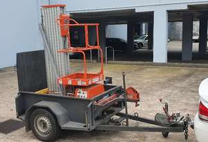 Single Man Lifter & Trailer - PRICE VERY NEGOTIABLE