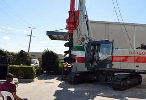 New! 45 Tonne Foundation Piling Rig for Dry HIre $37,090 Per Month