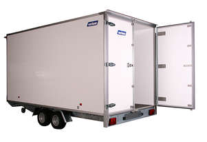 Variant C4 3521 - Enclosed Cargo Trailer (14x7 ft)