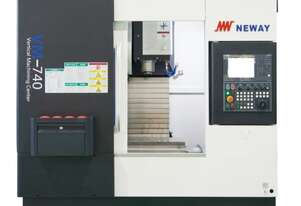 Vertical Machining Center VM740S Travel X/Y/Z 650/420/500, Positioning Accuracy 0.008mm