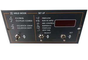 Lincoln Electric Mig Welder Wire Feeder MX Control Panel Kit Suits Power Feed 10 and 10 Dual