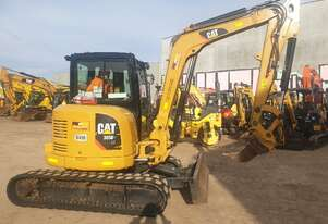 CAT 305E2 5T EXCAVATOR WITH LOW 1100 HOURS