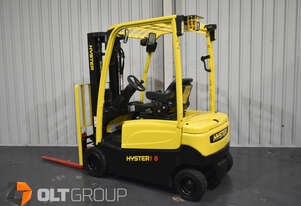 Hyster J1.8XN Electric Forklift 4 Wheel Battery Electric Very Low Hours Container Mast Sideshift