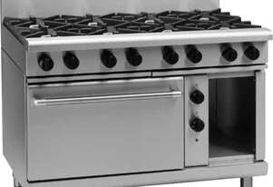 Waldorf 800 Series RNL8813GE - 1200mm Gas Range Electric Static Oven Low Back Version