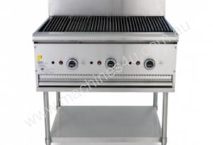 Trueheat B90 Gas Heated BBQ Mounted On A Stand