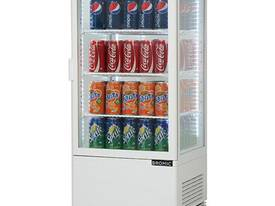 Bromic Countertop Beverage Chiller Flat Glass Whit