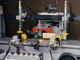 HORIZONTAL CHISEL MORTISING MACHINES Mod. MBOT1 - picture2' - Click to enlarge