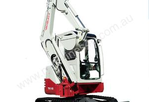 NEW TAKEUCHI TB138FR 4T ZERO SWING