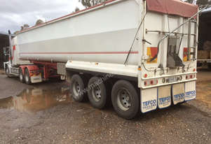2005 TEFCO 36' X 6' STEEL TOA TRAILER
