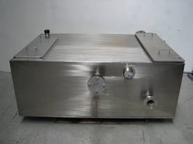 Fabricated Stainless Steel Tank - 1550L