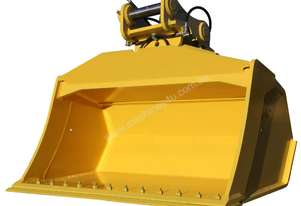 Rhino Buckets tilt screed batter bucket