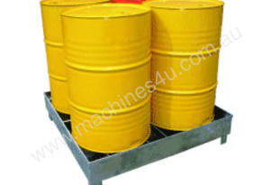 Drum Storage Spill Containment Stand (4 Drums)