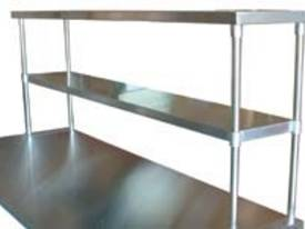 Brayco S/Steel Overshelves 2-tier - picture0' - Click to enlarge