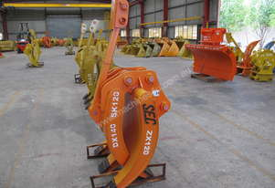 Brand New SEC 12-15 tonne Mechanical Grapple ZX120 / ZX135