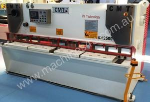 CMT 4MM X 2500MM HYDRAULIC OVERDRIVEN GUILLOTINE