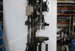 Vintage Multi 8 Head Repitition Drill Stand
