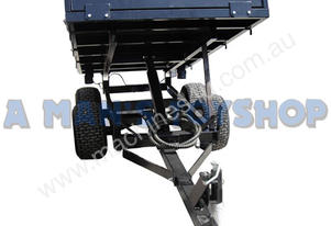 TIPPER TRAILER 3 TON 4 WHEEL HYDRAULIC