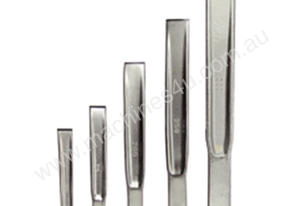 CHISEL SET 4 PCE FORGED 17 TO 33.6MM WID