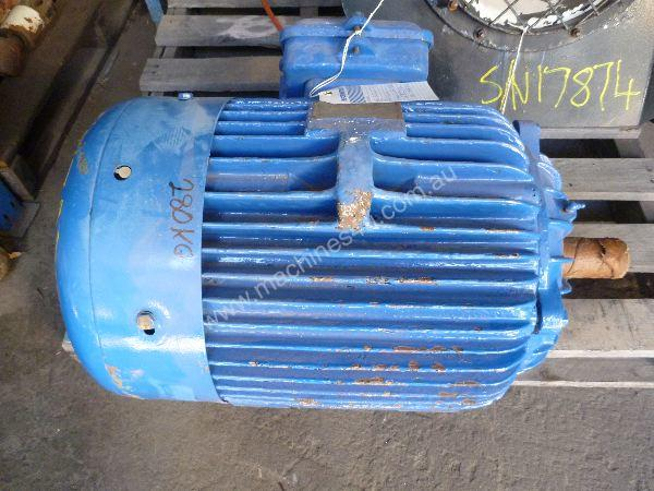 Used Atkins Carlyle Frame 200l Three Phase Motor In