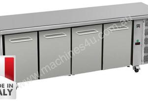 Four Door Commercial Worktop/ Under Bench Fridge