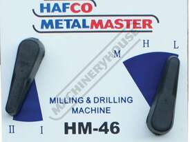 HM-46 Mill Drill Machine & Metric Tooling Package  (X) 475mm (Y) 195mm (Z) 450mm Includes Dovetail C - picture4' - Click to enlarge