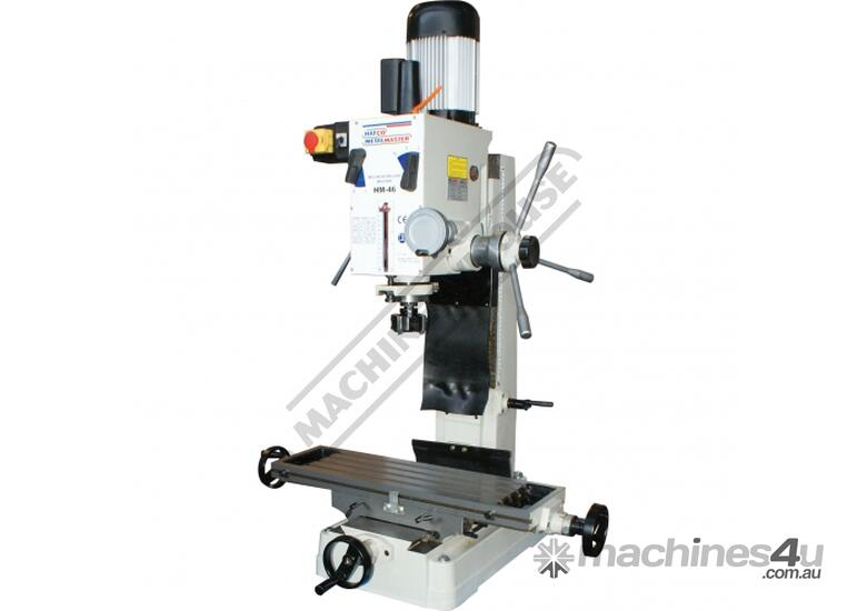 HM-46 Mill Drill Machine & Metric Tooling Package  (X) 475mm (Y) 195mm (Z) 450mm Includes Dovetail C