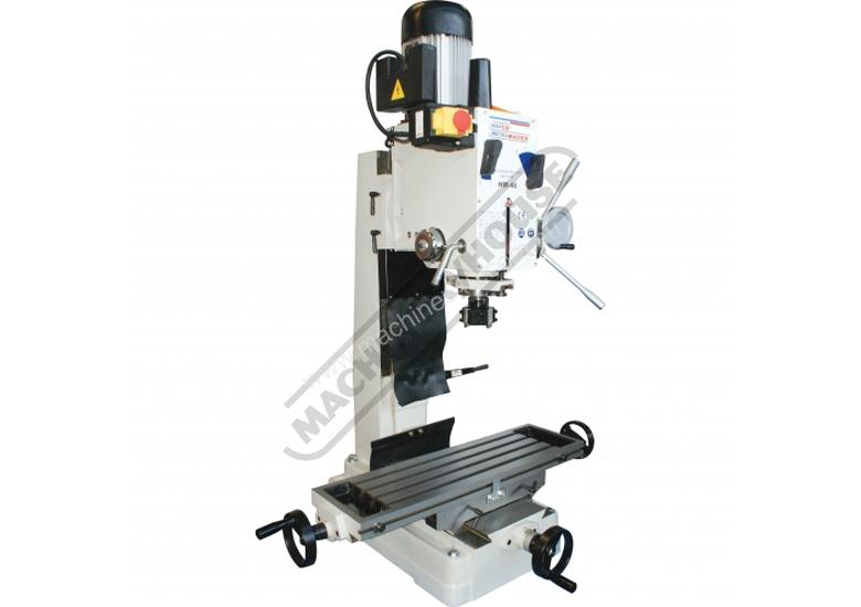 HM-46 Mill Drill Machine & Metric Tooling Package