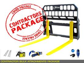 PALLET FORK - Contractors Bulk Attachments PACKAGE