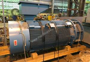 420 kw 12 pole 6600v Squirrel Cage Electric Motor