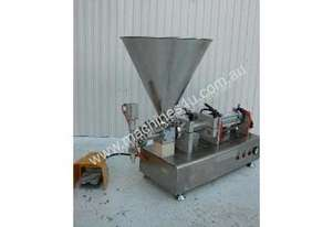 Rotary Valve Piston Filler with Hopper