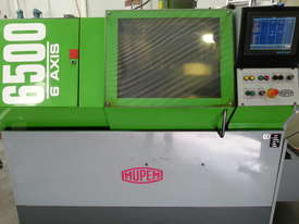 Mupem 6 Axis Automatic lathe with Polygon attachment and barfeeder - picture0' - Click to enlarge