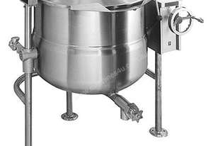 Crown DLT40 151 Litre Direct Steam Kettle - Tilting Tri-Leg