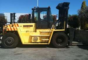 Hyster 14,000kg  1200mm diesel forklift. Free delivery within Australia