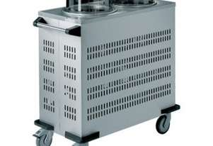 Rieber RRV-L2-190-320 - 44kgs Mobile Tubular Dispenser (Round) - No Heating with vents