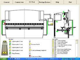 4000mm x 175Ton CNC iBend Touch Screen, Laser Guards - picture15' - Click to enlarge