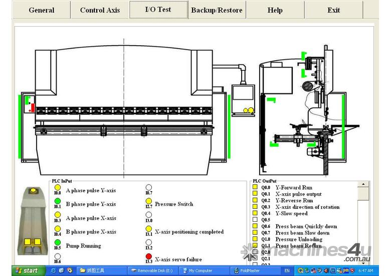 4000mm x 175Ton CNC iBend Touch Screen, Laser Guards