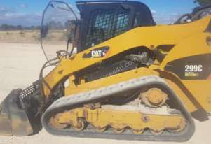 Large Posi Trac/Bobcat 299C Caterpillar