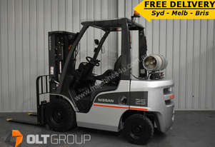 Nissan 2.5 Tonne Forklift For Sale Sydney Melbourne and Brisbane Free Delivery