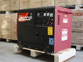 5.0KVA Silent Diesel Generator 240V Large Tank 30L - picture9' - Click to enlarge