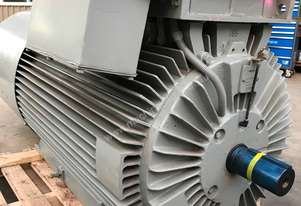 570 kw 750 hp 4 pole 415 volt Electric Motor VSD