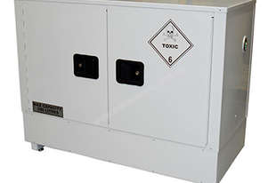 100 Litre Indoor Toxic Substance & Pesticide Storage Cabinet. Made in Australia