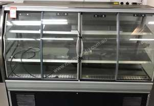 Fpg Curved Food Display Fridge