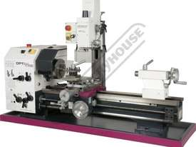TU-3008G-16M Opti-Turn Lathe & Mill Drill Combination Package Deal 300 x 700mm Included BF-16AV Mill - picture0' - Click to enlarge