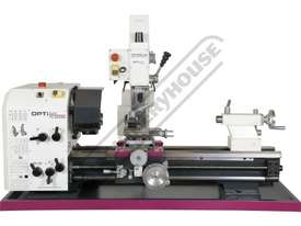 TU-3008G-16M Opti-Turn Lathe & Mill Drill Combination Package Deal 300 x 700mm Included BF-16AV Mill - picture2' - Click to enlarge