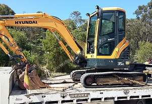 3.5 Ton Excavator BRAND NEW TRACKS WILL BE FITTED