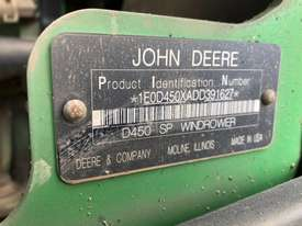 John Deere D450 Windrowers Hay/Forage Equip - picture1' - Click to enlarge