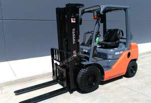 TOYOTA business class 2012 model 2.5 tonne dual fuel container forklift - Sydney
