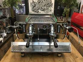 KEES VAN DER WESTEN MIRAGE DUETTE 2 GROUP ESPRESSO COFFEE MACHINE - picture1' - Click to enlarge