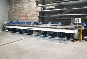 Used 8.2m Machine Makers Slitter Folder