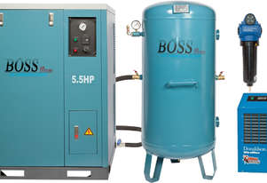 BOSS 25CFM Silent Compressor Clean Air Package